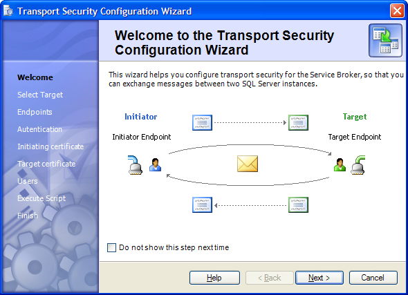 Transport Security Wizard